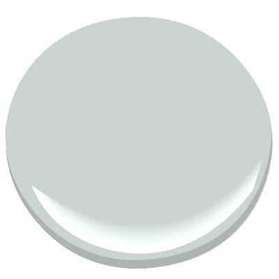 """Benjamin Moore's """"Pale Smoke.""""  HGTV Magazine's March 2013 issue featured this color on kitchen cabinets. I'm thinking some furniture would look great in this."""