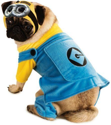 Despicable Me 2 Minion Pet Costume, Cute Large Dog Costumes For Girl Dogs: perfect for Halloween
