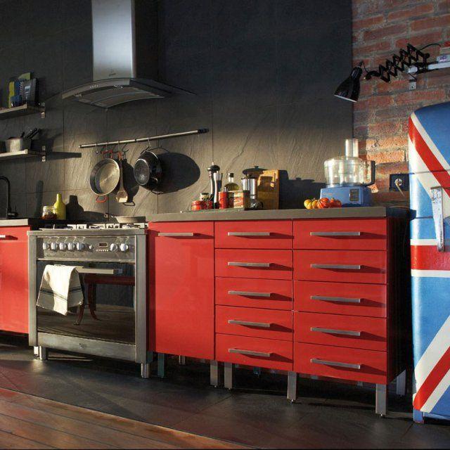 7 best cuisine images on Pinterest Cement tiles, Deco cuisine - kchenfronten modern