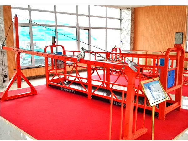Construction Cradle Zlp630 Suspended Working Platform Used For Window Cleaning Work Platform Safety Devices Window Cleaner