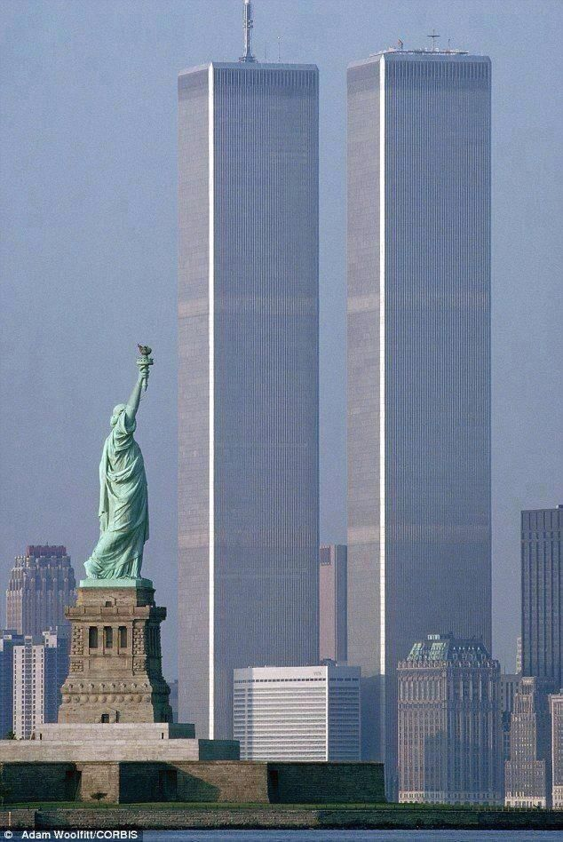 Never Forget. The World Trade Center (Photo before: September 11, 2001)