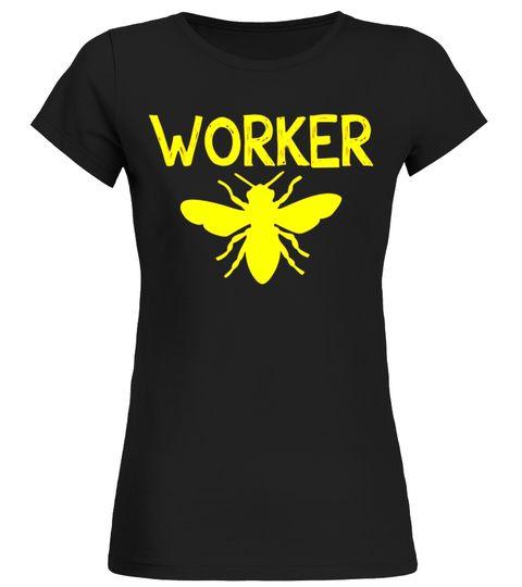 WORKER BEE Funny Bug Lover Beekeeper Halloween Costume Shirt The Joker T-shirt