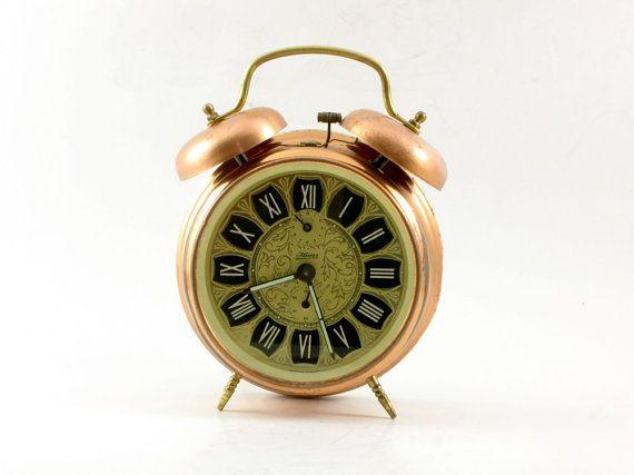 Vintage Alarm clock German Kaiser Alarm Clock by ...