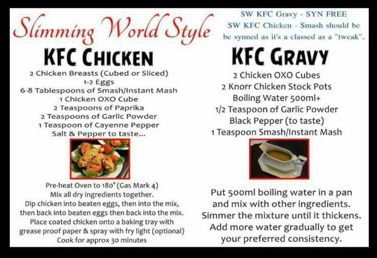 SW KFC Chicken & KFC Gravy                                                                                                                                                                                 More