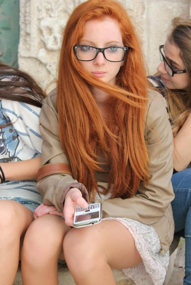 Nude Red Heads Wearing Glasses 72