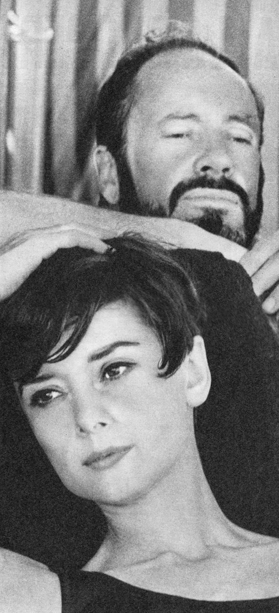 Mel Ferrer and Audrey Hepburn, photographed by Yul Brynner during their holidays in Venice,  August 1965.
