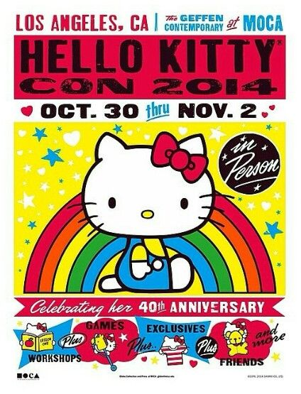 Hello Kitty Con 2014 - I live in Australia so I just need to win the lottery and I'm there - Simples!!!!
