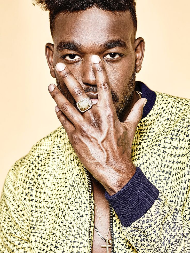American singer-songwriter Luke James photographed by Rodrigo Cid and styled by Chris Pearson, in exclusive for Fucking Young! Online.