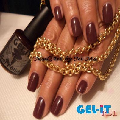 Nails by Ni-Ma with GEL.iT UV LED Soak off Gel Polish
