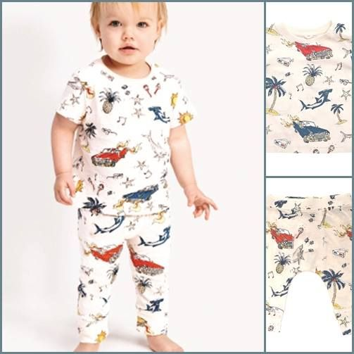 Baby vintage in Stella McCartney!!! con Stella McCartney Kids a http://www.cocochic.it/it/baby/434-t-shirt-stampa-anni-50.html http://www.cocochic.it/it/baby/433-pantalone-stampa-anni-50.html
