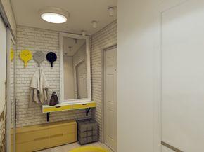 Фотография: Прихожая в стиле Эклектика, Квартира, Дома и квартиры, IKEA, Проект недели, проект недели2014 – фото на InMyRoom.ru
