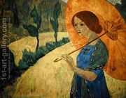 Madame Serusier with a Parasol, 1912  by Paul Serusier