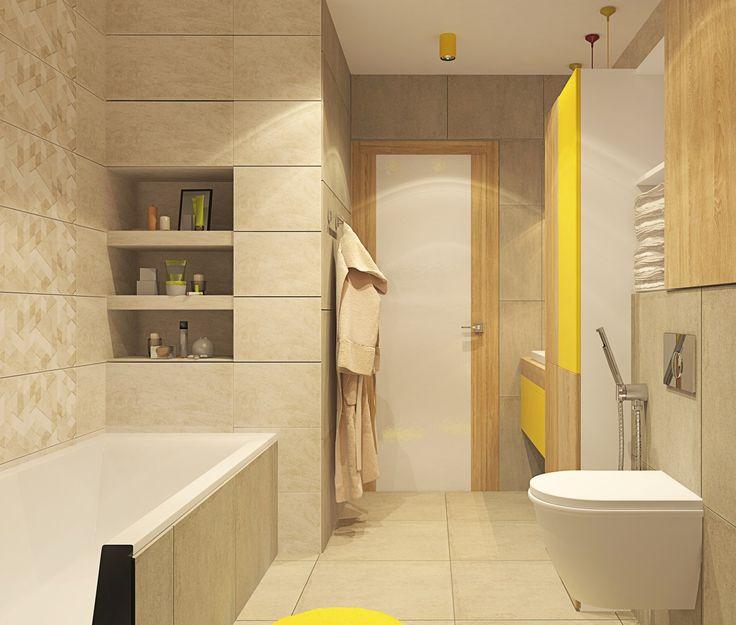 Однокомнатная квартира-студия в ЖК Лазурная Симфония (50 м.кв). Квартира не очень большая и чтобы не занимать место мы вместо стены использовали плотные шторы для того, чтобы отделить кровать от зоны гостиной. Кухню отделяет барная стойка и так же имеется зонирование по потолку при помощи балок. Сайт: http://саратов-дизайн.рф Группа: http://vk.com/designsaratov Телефон: 89271332827