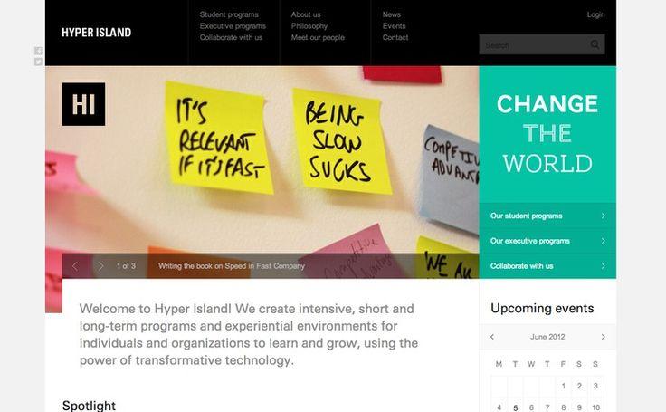 Hyper Island #web #design