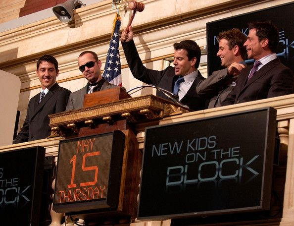 Opening Bell NYSE New Kids On The Block