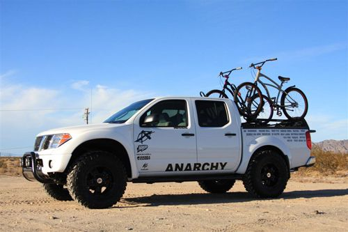 Nissan Frontier with ReadyLift Lift Kit off road.jpg 500×333 pixels