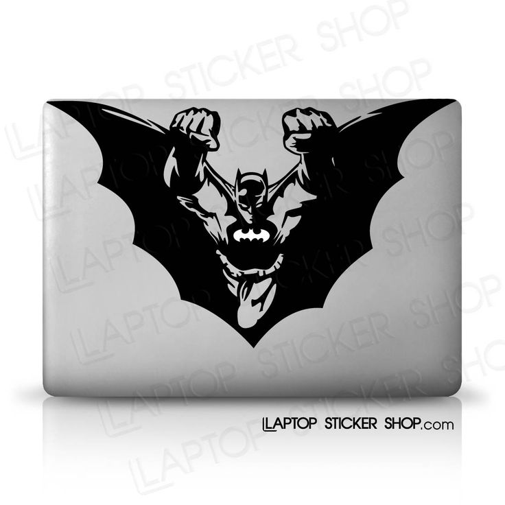 Batman dark knight flies decal laptop sticker shop buy cheap