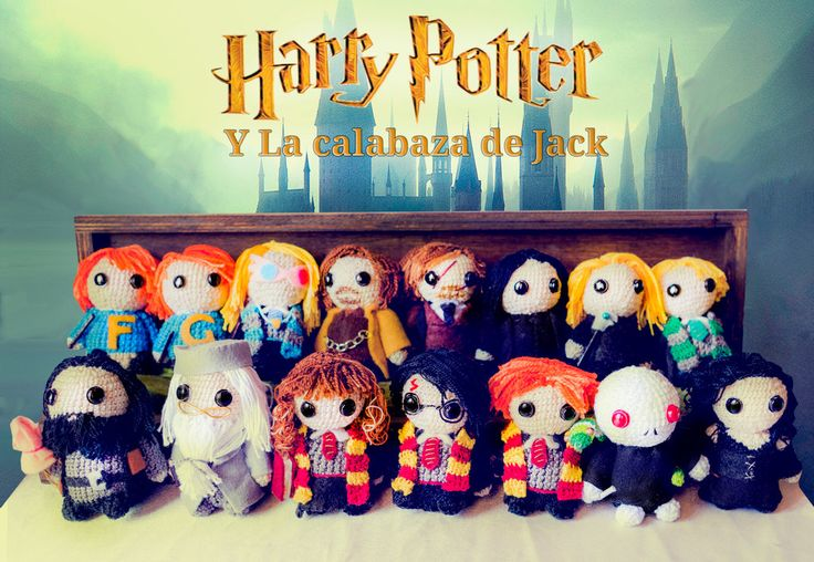 Harry Potter Amigurumi by cristell15