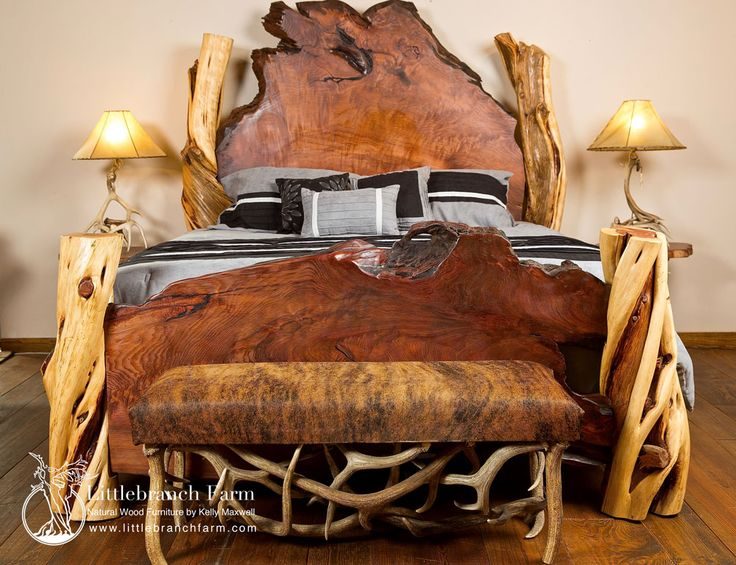 29 best Rustic Beds images on Pinterest