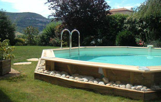 Le bijou des jardins, la piscine Nortland Ubbink.