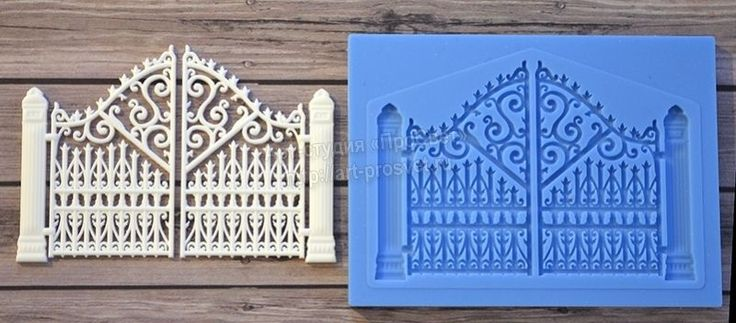 Model - Openwork Gate. 3D Silicone mold is used for making sweets and cake, baking, art. Silicone mold can withstand temperatures up to 250 degrees Celsius. This silicone mold can be used for the manufacture of food. | eBay!