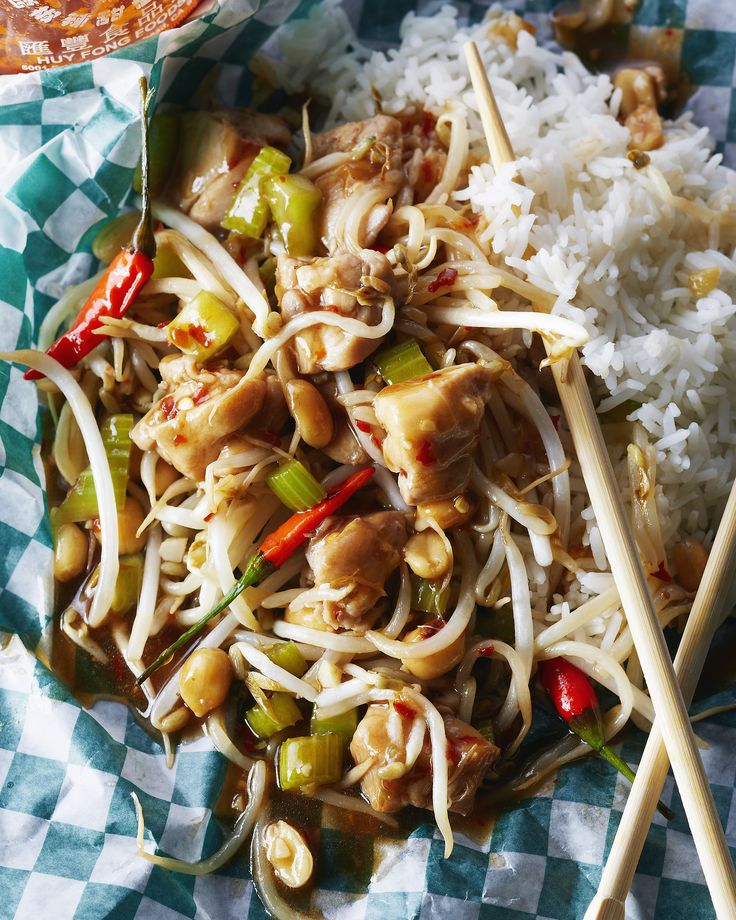 131 best penguin lifestyle images on pinterest vegan recipes kung pao chicken recipe from the rice box food truck forumfinder Image collections