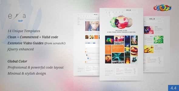 Download and review of Era WP - Visual Performance, one of the best Themeforest Creatives themes