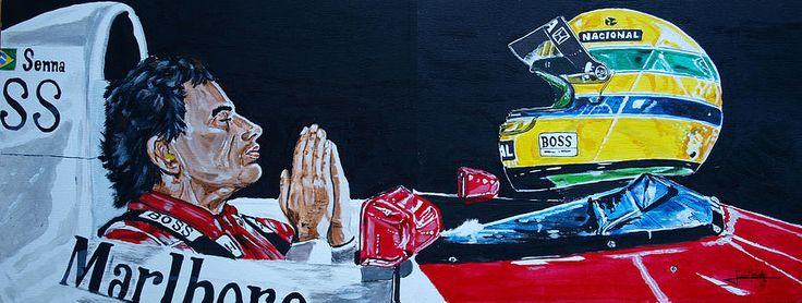 """Mystic Ayrton Senna"" by Juan Mendez"