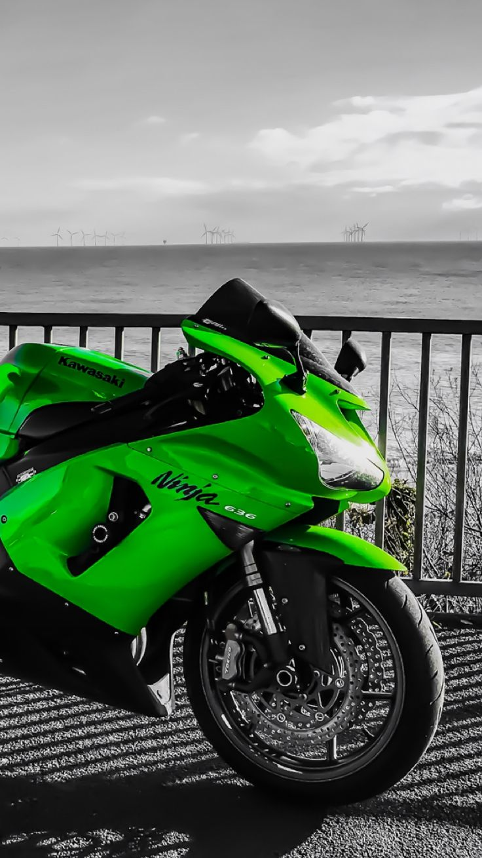 Kawasaki ninja zx6r 636 motorcycle motorbike Clacton ride bike