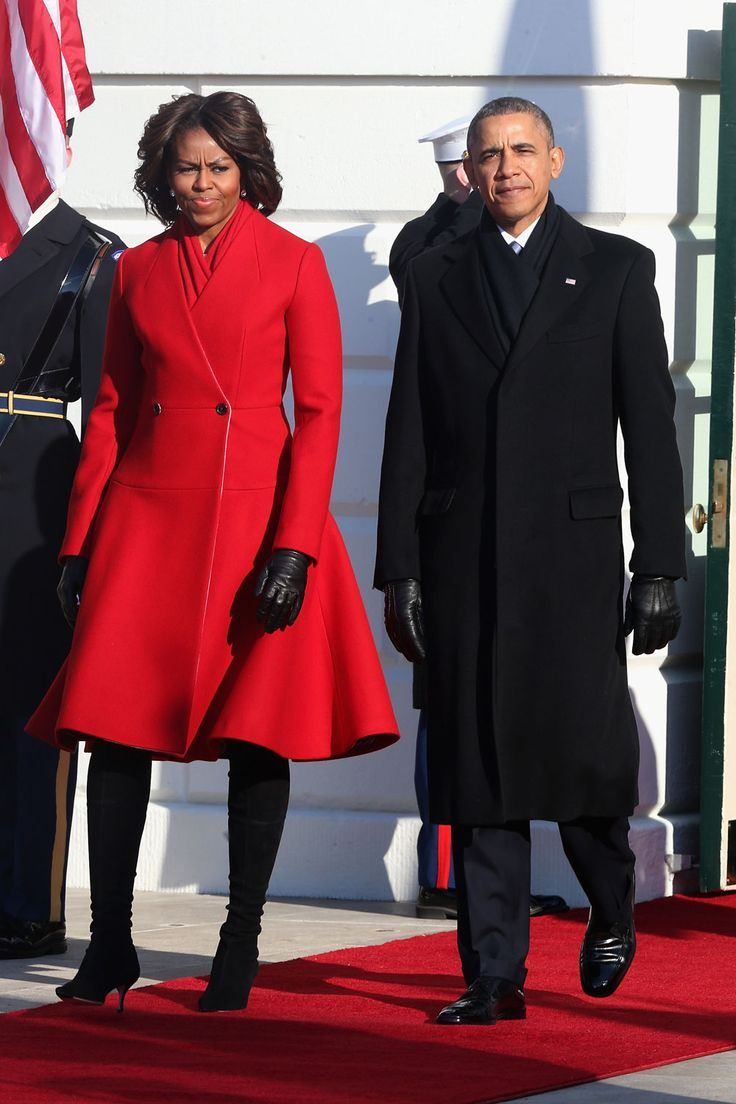 Michelle Obama FLOTUS Fashion Double Shot | Tom & Lorenzo Fabulous & Opinionated (Thome Browne coat)