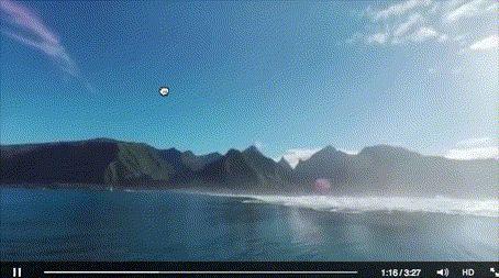 Une vidéo immersive à 360sur les plus grandes vagues de Tahiti