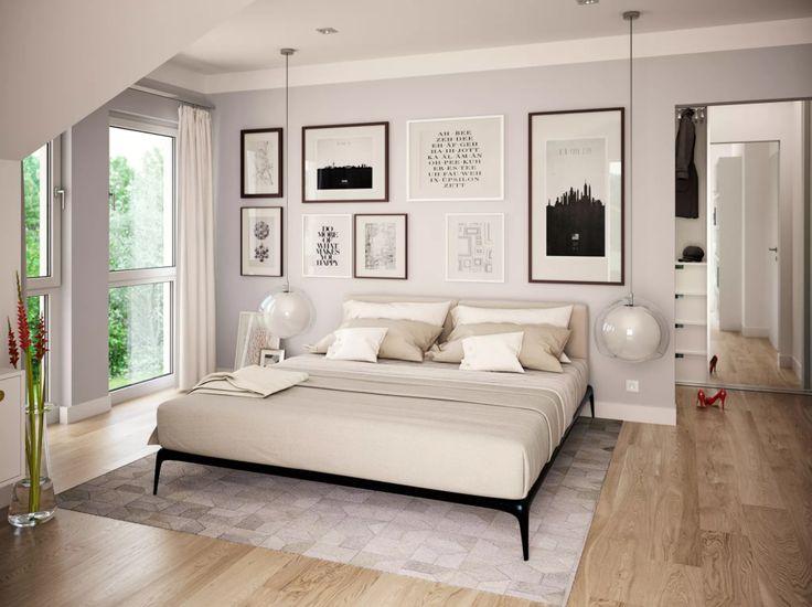 Modernes Schlafzimmer Einrichtung Interior Wohnideen