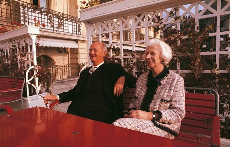 Vladimir and Vera Nabokov in Montreux, 1969. Image: Giuseppe Pino under a CC licence.