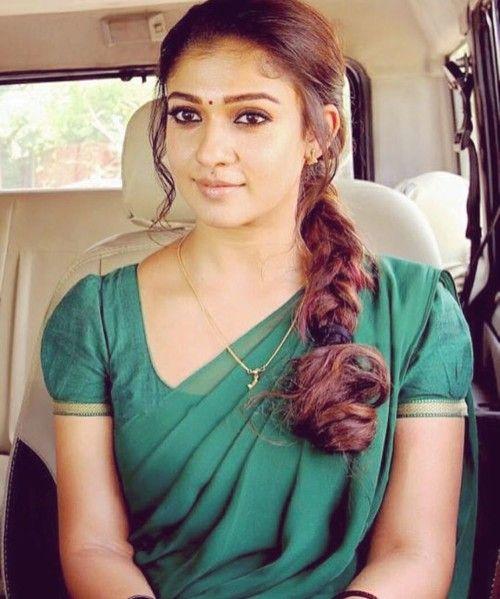 Nayanthara Messy Side Braid Hairstyle Bollywood Hair In