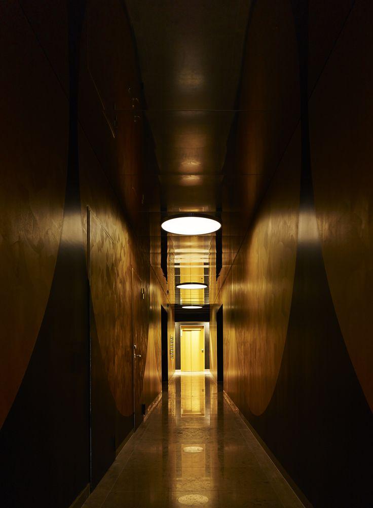 Lighting in hallway by Orbium at Ture8 in Stockholm. #lighting #led #design #ture8 #tureno8 #orbium