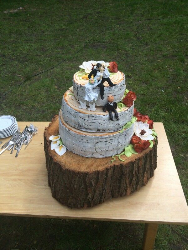 Berk weddink cake