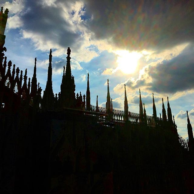 Duomo di Milano from a different perspective! Still looks pretty cool though. @in_lombardia #travel #italy #milan