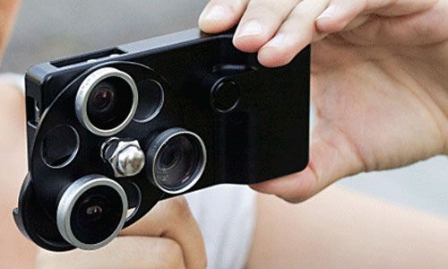 iPhone Lens Dial - Some Cool Tech Gifts for Travelers