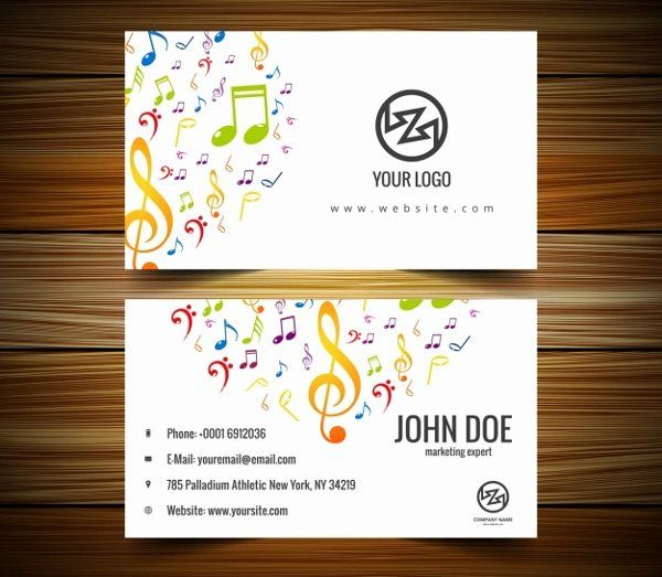 Music Business Cards Template Beautiful 26 Music Business Card Templates Psd Ai Word In 2020 Visiting Cards Music Business Cards Card Template