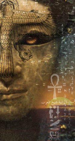 Goddess: Sekhmet, Lioness Goddess of Egypt   Art - Lion Within  by Katlyn