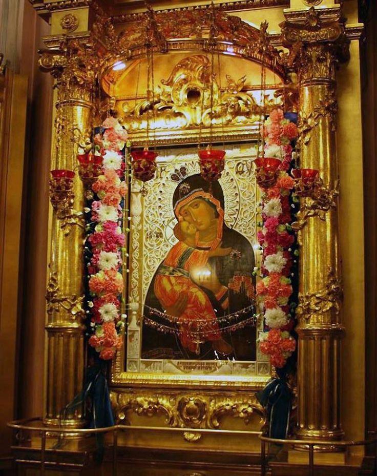 Icoana Maicii Domnului din Vladimir (Vladimirskaia)-Rusia