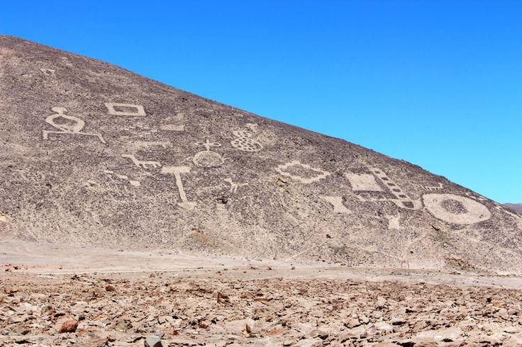 Geoglifos Pintados - Deierto de Atacama, Chile.