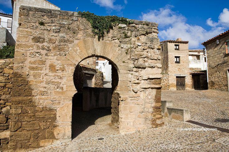 GR86. Puerta Califal. Ágreda. Soria. Castilla y León. España. © Javier Prieto Gallego