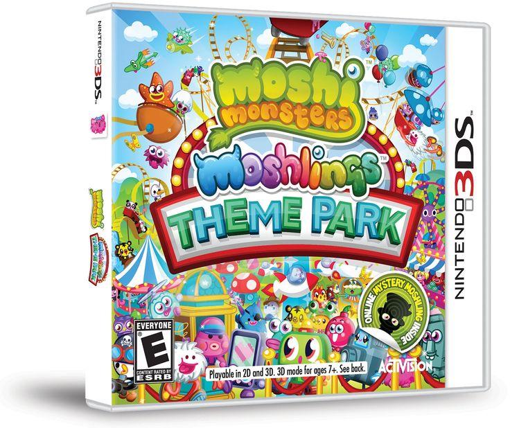 Moshi Monsters, Moshlings Theme Park 3DS-peli, 0,99 €. Norm. 45 €. KONSOLINET 5. KRS