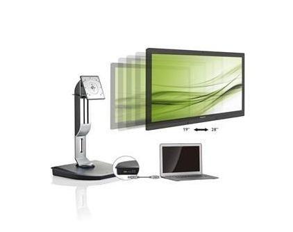 Philips USB Docking Stand: een monitorstandaard en universele dock in één