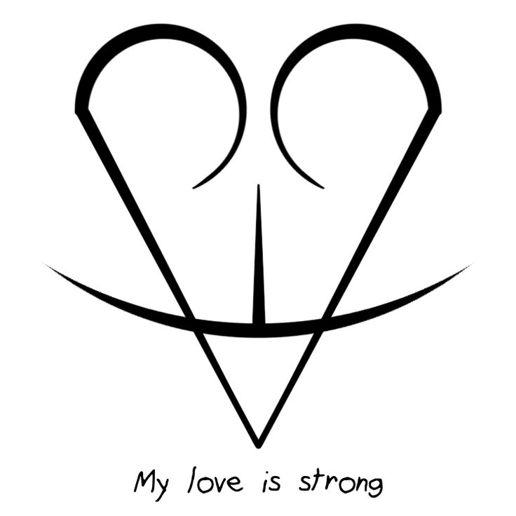"""Sigil Athenaeum - """"My love is strong"""" sigil  requested by...                                                                                                                                                                                 More"""