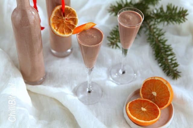 ChilliBite.pl - motywuje do gotowania!: Rewelacyjny likier czekoladowo-pomarańczowy a'la B...