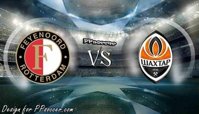 Feyenoord vs Shakhtar Donetsk Predictions 17.11.2017 - soccer predictions, preview, H2H, ODDS, predictions correct score of UEFA Champion League betting