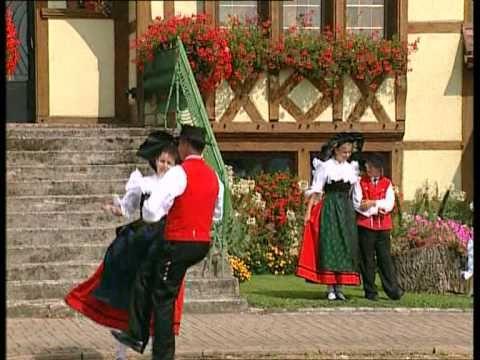 Danse Alsacienne : la MAZURKA - YouTube
