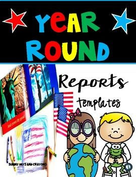 This is a MINI set of 16 reports/ writing templates. It is not a growing bundle, but it has BEEN GROWING simply because whenever I do a new activity with my students, I add it to this packet! The writing templates included are: 1) You Should Read This Book (boys and girls clip art) 2) Native Americans (boys and girls clip art) 3) USA Symbols 4) Planet Report (boys and girls clip art) 5) I Have a Dream ( can be used as When I Grow Up